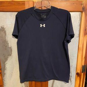 Men's Small Navy Blue Under Armour T-Shirt